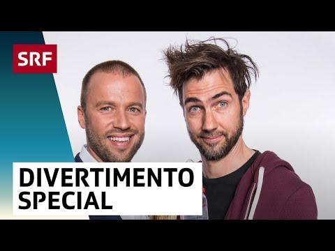«Divertimento Special» mit Jonny Fischer und Manu Burkart | SRF Comedy