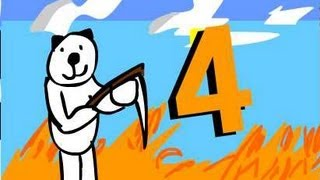 Minecraft for noobs (cartoon) part 4
