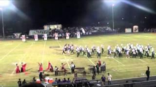Skidmore-Tynan Bobcats & Taft Greyhound HS Bands