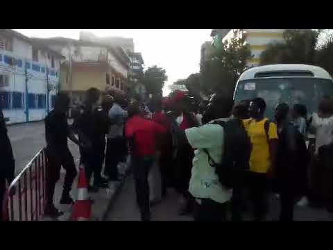 Situation toujours tendue à Kaloum après l'arrestation du syndicaliste Cheick Touré