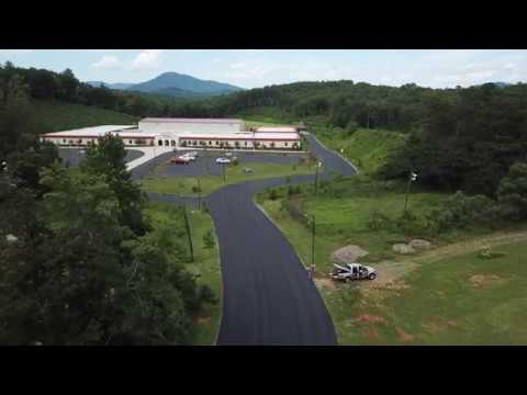 New Paving at Lake Lure Classical Academy