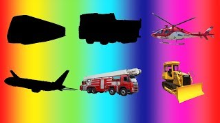 어린이 영어 공부,자동차 이름 맞추기와 소리퍼즐게임 4탄│ Learning Trucks, Car Name and Sound for Kids, Puzzle for Children's