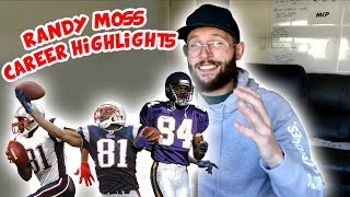 Rugby Player Reacts to RANDY MOSS NFL Career Highlight Reel