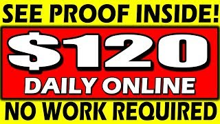 Earn $120+ DAILY NOW 🔥No Work Required!🔥 (SEE PROOF!)💰MAKE MONEY ONLINE💰