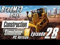 Construction Simulator 2 US - PC Version - Episode 28 - Final City Road!!!