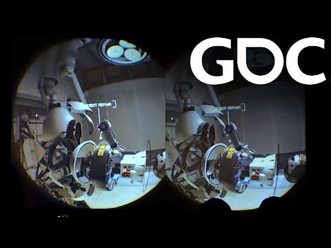 2015 GDC - HTC/Valve Vive Portal Demo (Stabilized and colour-corrected)