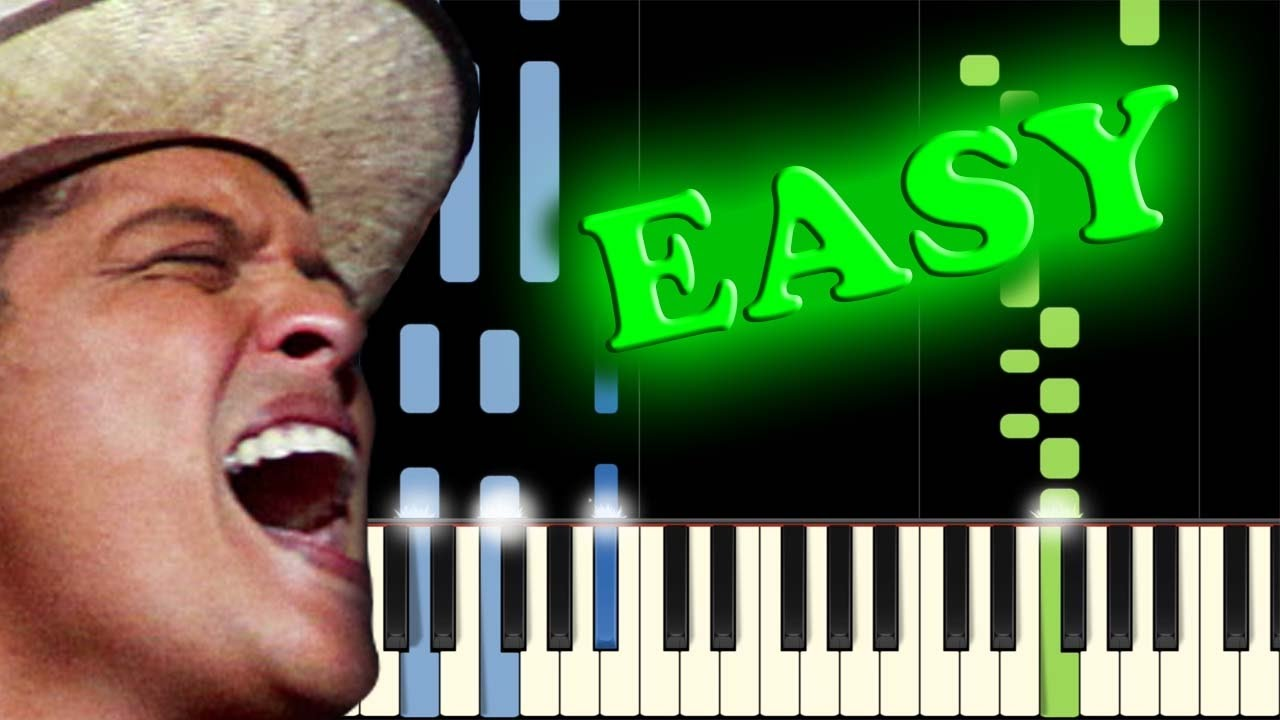 Bruno mars when i was your man easy piano tutorial youtube bruno mars when i was your man easy piano tutorial hexwebz Images