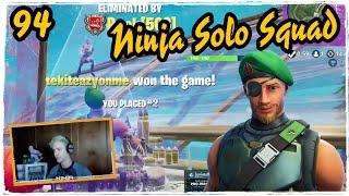 1 vs 1 Rip Ninja - Ninja Garrison Skins Fortnite Jeu Solo Squad
