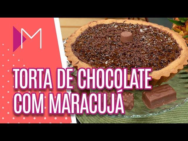 Torta de chocolate com maracujá - Mulheres (20/03/2019)