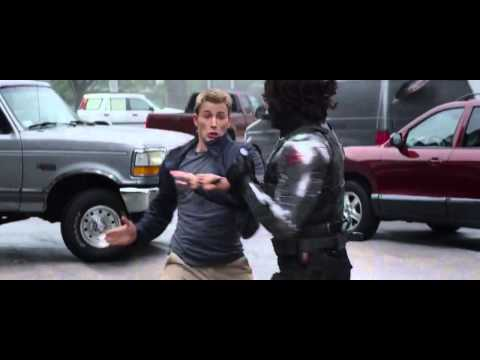 Captain America: The Winter Soldier Highway Fight Scene