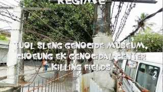Genocide Pol Pot; Tuol Sleng Museum and Choeung Ek Center; Killing Fields, Cambodia