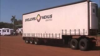australian trucking roadtrains