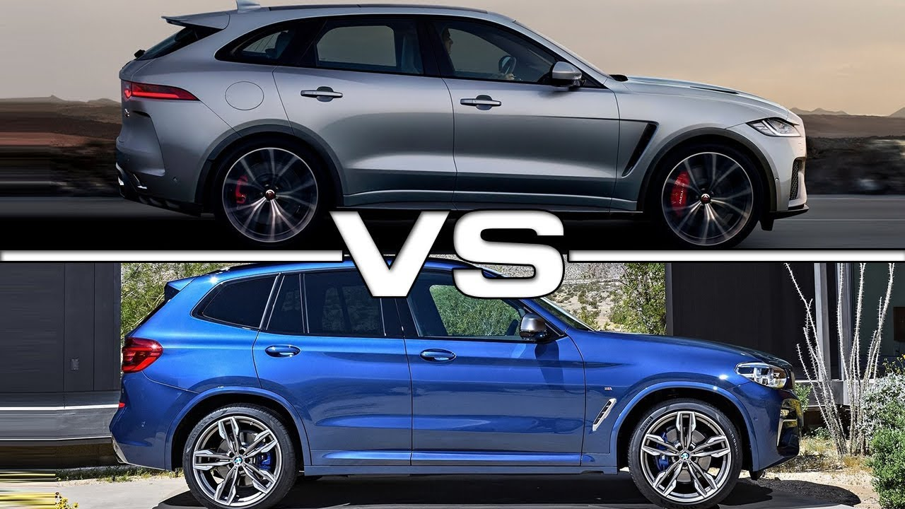2019 Jaguar F-Pace SVR Vs 2018 BMW X3 M40i