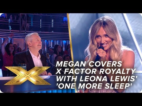 Megan Covers X Factor Royalty With Leona Lewis One More Sleep Final X Factor Celebrity Youtube