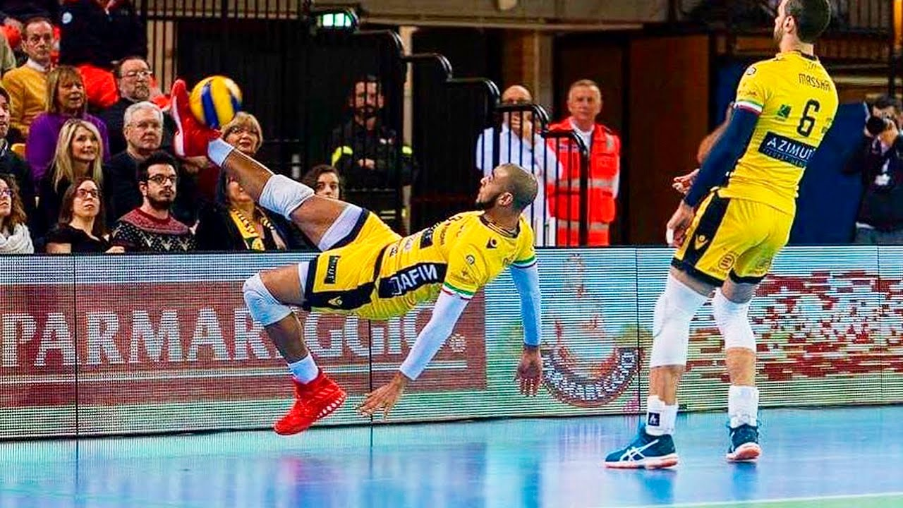 Earvin Ngapeth Top 30 Best Volleyball Actions (HD)