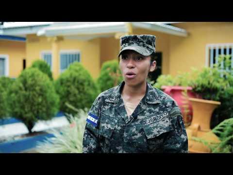 First Female Completes Honduran Sapper Leadership Course