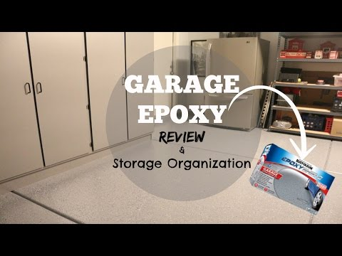 DIY GARAGE Epoxy KIT Review + Storage Solutions
