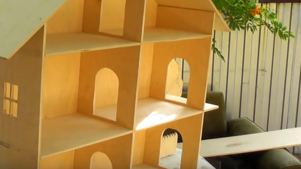 Новый DIY кукольный домик для девочек, игрушка ручной работы ... | 720x1280