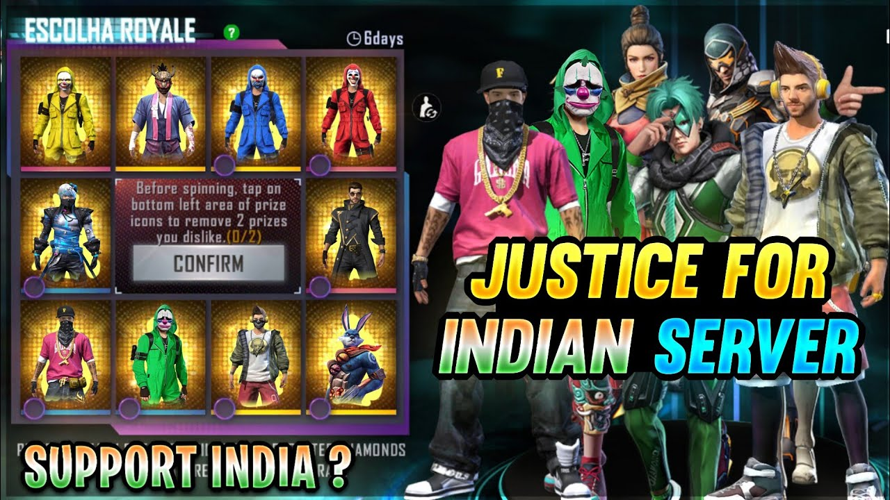 JUSTICE FOR INDIAN SERVER 🔥 ll Garena Free Fire