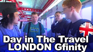 Day in the TRAVEL - @Gfinity, London and OpTic!