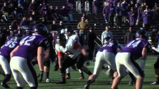 Wartburg Football at UW-Whitewater Quarterfinals NCAA Playoffs (Dec. 6, 2014)