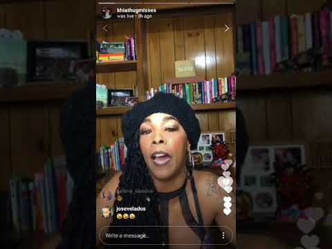 """Khia to Ts Madison: """"The Queen's Court is Not Yours, It's Mine! Be Creative!"""" February 19, 2018"""
