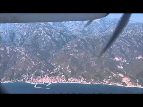 Olympic Air Bombardier Q400 Flight From Athens to Mytilene (Lesvos)