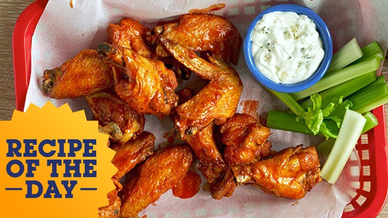 Recipe of the day rees classic hot wings food network youtube recipe of the day rees classic hot wings food network forumfinder Choice Image