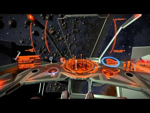 Admiring the asteroid belt