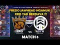 RRQ Tak Berdaya    RRQ vs ASYN Match 1 MSL Semi Final  Mobile Legends