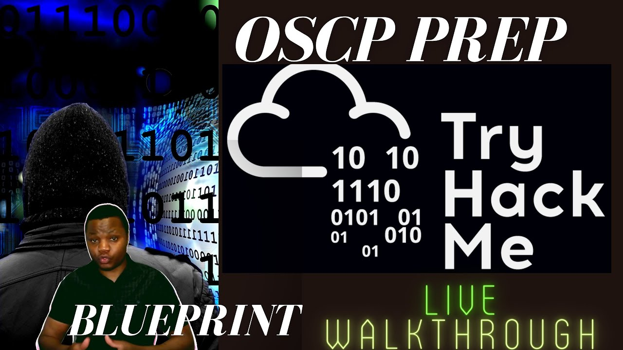 OSCP Prep LIVE | TRYHACKME Blueprint - Windows Machine | Hands on infosec skills learning.
