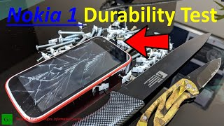 [Hindi] Nokia 1 Durability Test - Scratch Test, Bend Test, Drop Test ! Budget Tank ?
