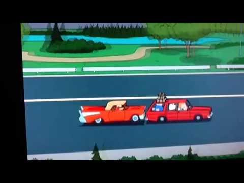 Peter Vs Quagmire Car Fight Youtube