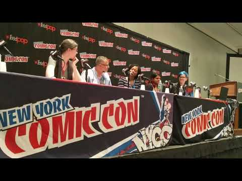 """Coming of Age in Graphic Novels"" - New York Comic Con 2017"