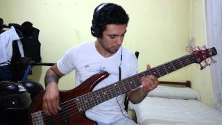 IRON MAIDEN - Black Bart Blues. Bass Cover by Samael.