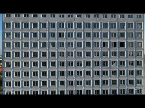 4k, Drone. Калининград. Дом Советов. Kaliningrad. House Of Soviets.