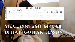 cara main gitar May Cintamu Mekar Di Hati