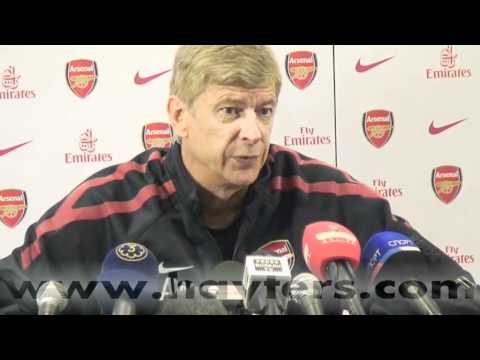 Arsene Wenger Press Conference 13-Aug-10