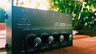 Behringer HA400 Unboxing