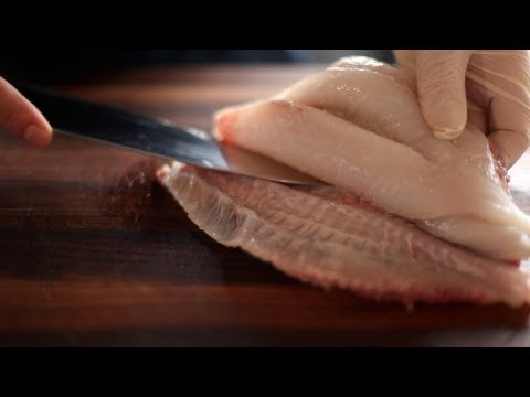 How to Break Down a Whole John Dory Fish