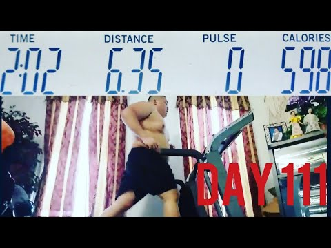 DAY 111 Cardio Fitness Weight-loss Journey