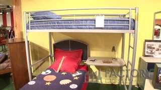 Hillsdale Children's Twin Bed And Loft Bed - Factoryestores.com