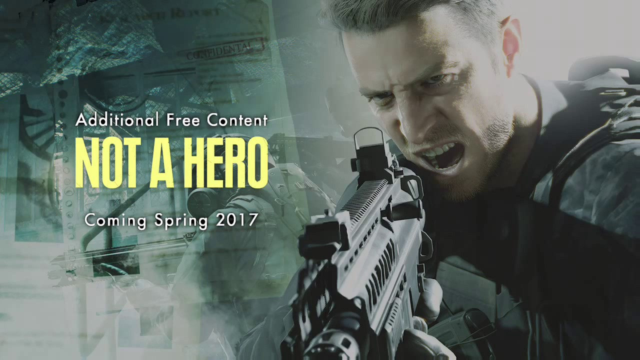 Not A Hero (Resident Evil 7 Additional Free Content) バイオハザード 7   YouTube