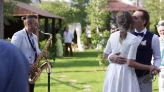 Свадьба Дмитрия и Евгении, Саксофонист Сивак Александр
