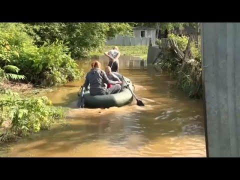 7 قتلى ومئات المشردين بسبب فيضانات في منطقة اركوتسك الروسية…  - 06:53-2019 / 7 / 2