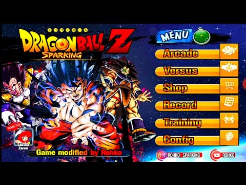 DOWNLOAD New Epic Dragon Ball Z Game Sparking Tap Battle MOD With DB Legends Graphics And Voice