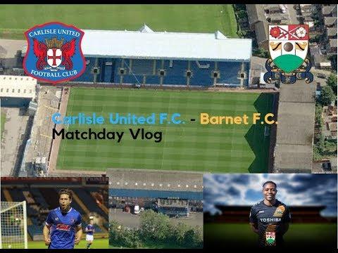 Carlisle United F.C. 1 v Barnet F.C. 1 | Running on empty | (16/09/17) Matchday Vlog