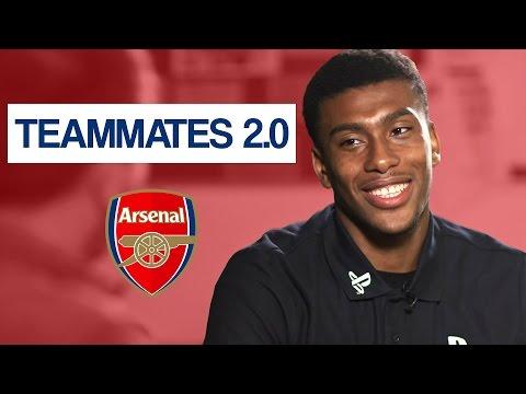 Who is the teacher's pet at Arsenal? | Alex Iwobi Teammates Mp3