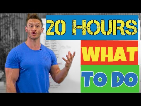 Sample Fasting Schedule - Hour by Hour - WHEN to Eat
