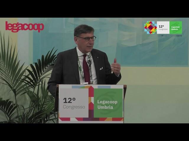 Il Presidente Mauro Lusetti ricorda Ivano Barberini al 12° Congresso Legacoop Umbria